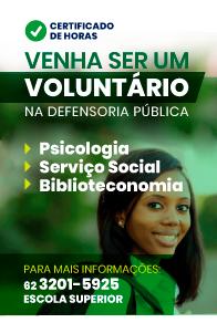 Venha ser um voluntário
